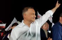 Andrzej Duda wgrywa pierwszą turę. Radość bez szału w sądeckim sztabie PiS