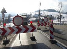 Jazda do Krynicy po nowemu. Budują nowy most w Nowej Wsi, a stary rozbierają