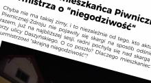 """Po opublikowaniu tekstu z 27 lutego 2021 roku """"Co ugryzło mieszkańca Piwnicznej, ze posądził burmistrza o niegodziwość"""", otrzymaliśmy list w tej sprawie. Przytaczamy go bez skrótów."""