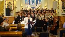 Chór parafialny w Marcinkowicach
