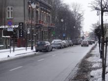 Ulica Długosza w Nowym Sączu ograniczenie parkowania