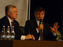 Gortąco na spotkaniu z marszałkiem Kuchcińskim