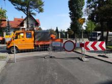zamknięta ulica Długosza