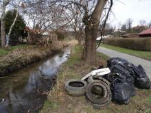 Potok Żeglarka posprzątany. Na jak długo?