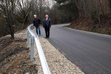 10 dni i drogowcy wygrali z osuwiskiem we Florynce, droga jest znów przejezdna