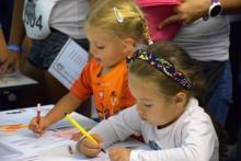 9. Tauron Festiwal Biegowy: Malowanki, konkursy i nagrody w kąciku dla dzieci