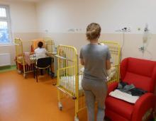 Oddział pediatryczny w sądeckim szpitalu, fot. szpital w Nowym Sączu