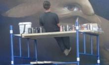 Odjechany pomysł Magistra Morsa. Takiego muralu jeszcze w Nowym Sączu nie było