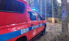 Krynica: uległ wypadkowi, pomogli mu ratownicy Krynickiej Grupy GOPR
