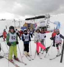 Mamy mistrzynię powiatu w narciarstwie alpejskim! To niebywały sukces [ZDJĘCIA]