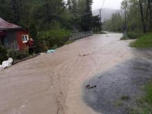 Powódź gmina Łabowa, fot. UG w Łabowej