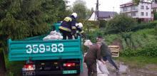Powódź, maj, fot. OSP Biegonice