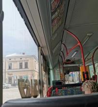 Autobus miejski, upały, fot. czytelniczka