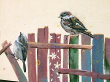 Magister Mors - mural w starym Sączu, fot. Justyna Hejmej