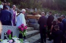 Rodzina, znajomi i przyjaciele ze smutkiem pożegnali Annę Padoł