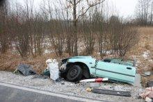 wypadek w Przyborowie