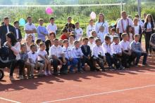 W Wojnarowej rozpoczęli rok szkolny na nowym boisku sportowym [ZDJĘCIA]
