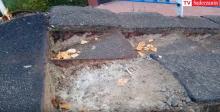 Nikt nie chce remontować kładki nad ulicą Nawojowską [WIDEO]