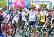 kraksa kolarzy Tour de Pologne w Limanowej