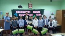W Szkole Podstawowej nr 15 w Nowym Sączu, po raz dwudziesty pierwszy odbył się Międzyszkolny Konkurs Matematyczny dla uczniów klas III.