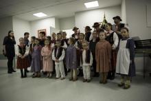 Mała Helenka zaśpiewała kolędy dla pacjentów onkologii