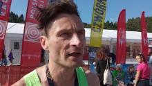 Festiwal Biegowy: mimo upału dali radę. Zwycięzcy maratonu na mecie [WIDEO]