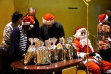 Mikołaj na osiedlu Stare Miasto