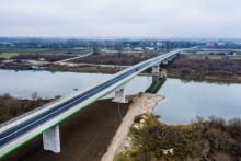Zbudowali nowy most. Teraz szybciej dojedziemy z Nowego Sącza do Warszawy