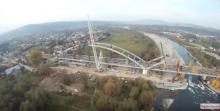 Zobacz Nowy Sącz z góry: jest nowy most na Dunajcu i nowe hale Wiśniowskiego