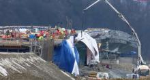 Jak oni to robią. Budowa nowego mostu w Kurowie robi wrażenie! [WIDEO][ZDJĘCIA]