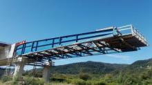 Ale widok! Nasunęli już kawał przęsła na most gigant w Kurowie [WIDEO][ZDJĘCIA]