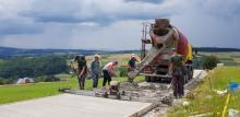 Nowa droga z Jasiennej do Lipnicy Wielkiej wkrótce otwarta