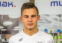 Piłkarski talent ze Słopnic. Patryk Nowak na testach w Stomilu Olsztyn