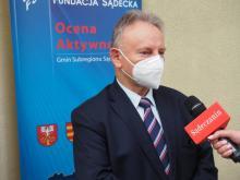 Jan Golba, burmistrz Muszyny. Ocena Aktywności Gmin 2020