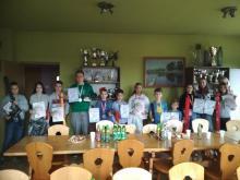 Zmagania młodych wędkarzy z Okręgowym Konkursem Wiedzy Ekologiczno-Wędkarskiej