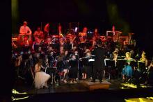 Muzycy z Orkiestry Dętej OSP Dominikowice świętowali jubileusz 20-lecia istnienia swego zespołu.