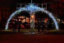 Ozdoby świąteczne w Nowym Sączu