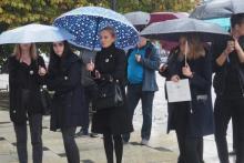 Czarny wtorek w Nowym Sączu. Kobiety znowu wyszły na ulice
