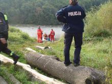Wydobyto ciało z Dunajca. Czy to zaginiony Kamil Pierzchala?
