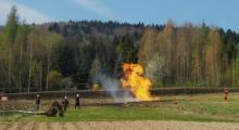 Ropa przestała tryskać, ale gaz wciąż płonie. Jak długo to jeszcze potrwa?