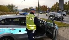 Szaleniec pędził samochodem 140 km/h. Policjanci zapobiegli tragedii