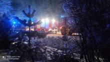 Pożar w Lipinkach pod Gorlicami. Nie żyje dwoje starszych ludzi