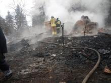 W Szymbarku spłonął budynek. Nie żyje 15-latka, trzy osoby w szpitalu