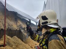 Pożar trocin Nowy Sącz, Węgierska