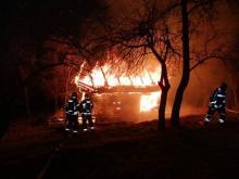 W ciągu czterech dni w Popowicach spłonęły dwa budynki [ZDJĘCIA]