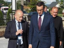 Premier Mateusz Morawiecki odwiedził Niskową