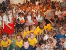 Młodzi artyści z gminy Korzenna zaprezentowali swoje talenty z lipnickim dworze