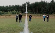 Coś takiego! Strzelają rakietami w kosmos w Muszynie