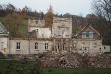 Remont dworu w Lipnicy Wielkiej