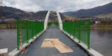 Co za most! A ile szczęścia da rowerzystom nie tylko w Łącku